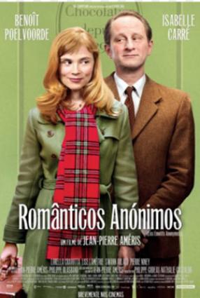 Cartaz do filme ROMÂNTICOS ANÔNIMOS – Les Émotifs Anonymes