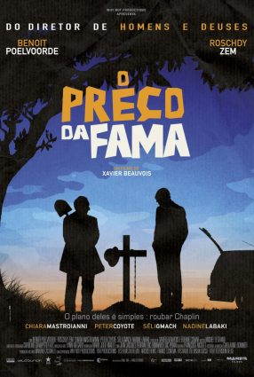 Cartaz do filme O PREÇO DA FAMA – La Rançon de la Gloire