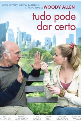 Cartaz do filme TUDO PODE DAR CERTO – Whatever Works